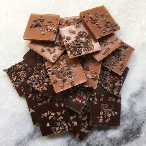 Chocolade flikken